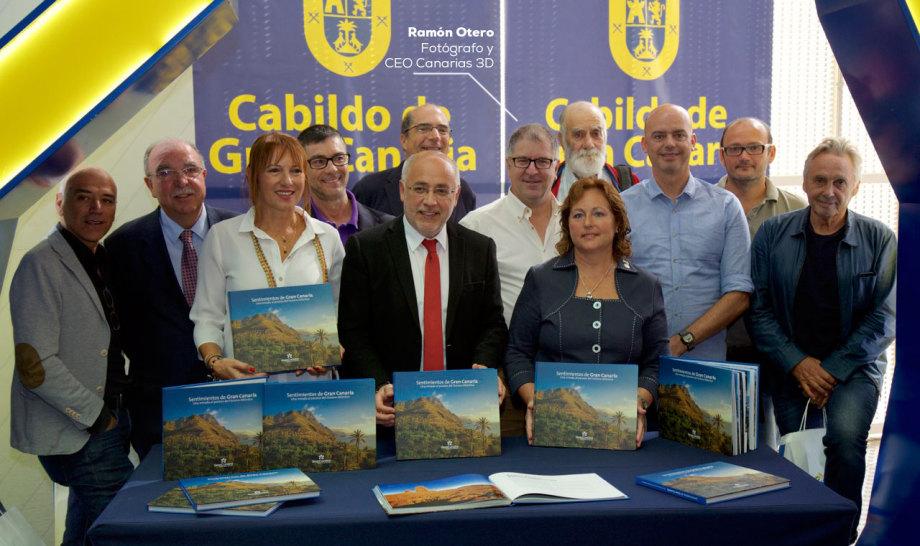 Libro de fotografías sobre la isla de Gran Canaria