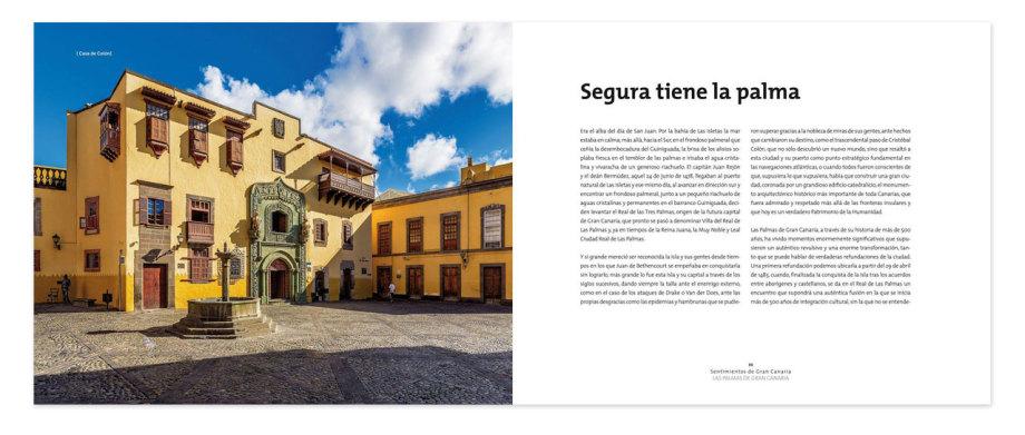 """Libro de fotografías turísticas """"sentimientos de Gran Canaria"""""""