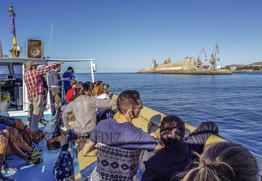 Instantes de la ruta geo fotográfica por Arquineguin