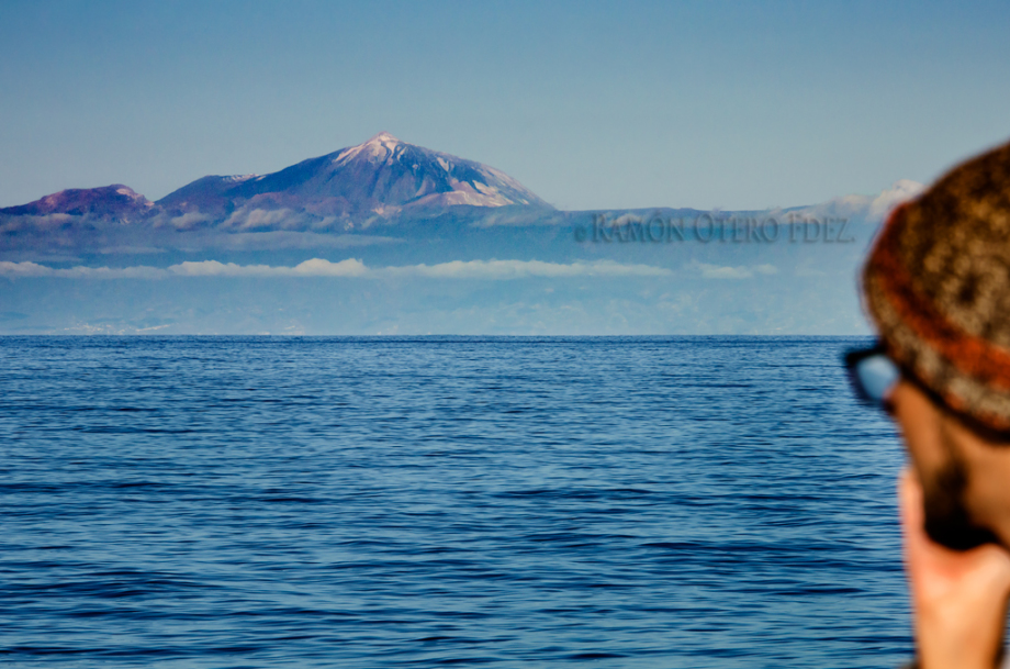 """""""El Teide siempre es un motivo para fotografíar en cualquier ruta por el suroeste de la isla gran canaria"""""""