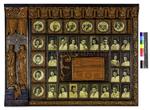 Orlas históricas de los años 50 en la facultad de xeogrfía e historia de la  Universidad de Santiago de Compostela  pertenecientes a los estudios de filosofía y letras
